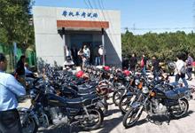 海淀驾校摩托车靠市场