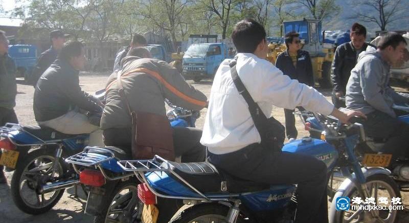 海淀驾校摩托车班